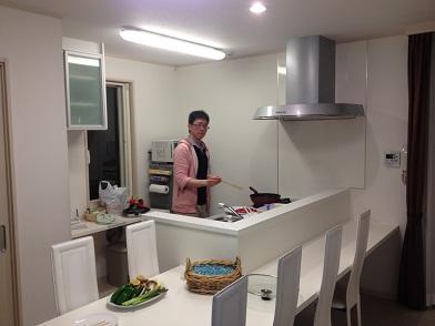 新田先生のお料理教室
