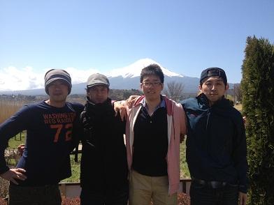 富士山が霞んでる(?)